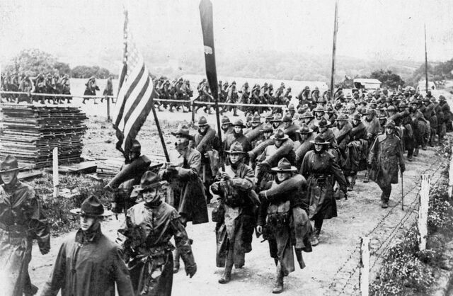 The US Enters WW1