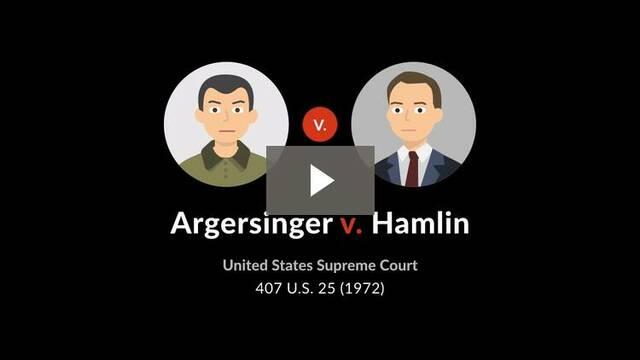 Agersinger v Hamilton