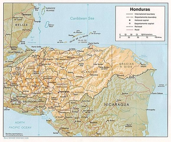 Honduras- Nicaragua. Proceso de verificación de fronteras