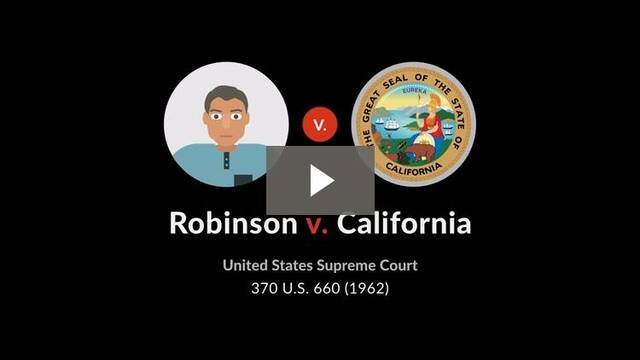 Robinson v California