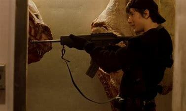 Elephant, the first movie of the massacre