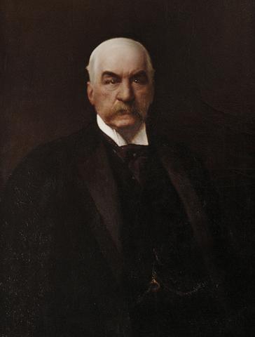 J. P. Morgan. (1837-1913).