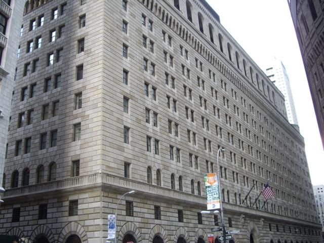 Banco de la Reserva Federal de Nueva York.
