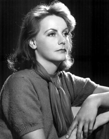 Greta Garbo. (1905-1990).