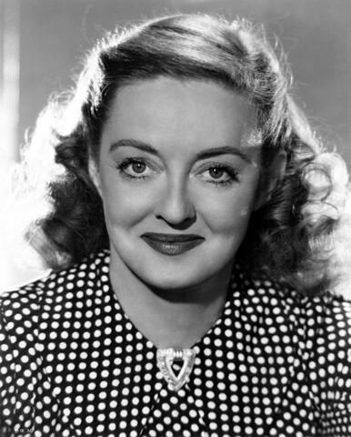 Bette Davis. (1908-1989).