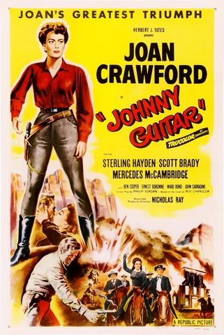"""""""Johnny Guitar"""" de Joan Crawford."""