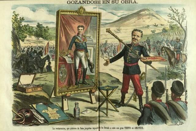 Pronunciamiento del general Martínez Campos en Sagunto