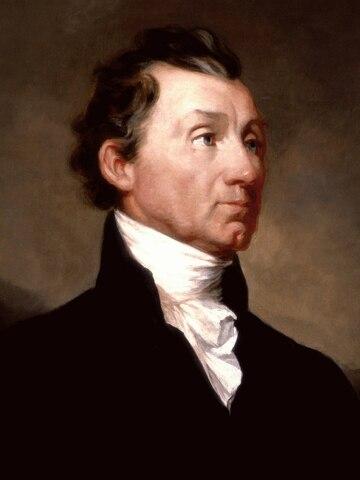 James Monroe. (1758-1831). - 5º Presidente de los Estados Unidos.