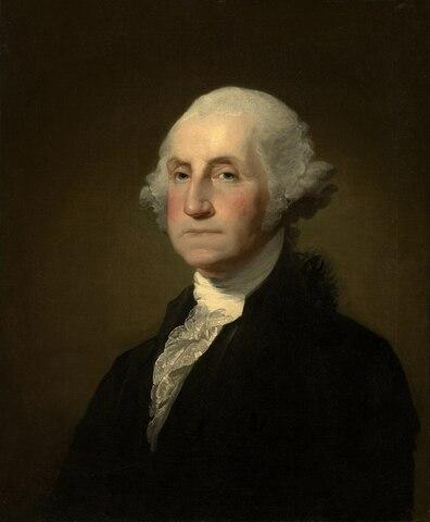 George Washington. (1732-1799). - 1º Presidente de los Estados Unidos.
