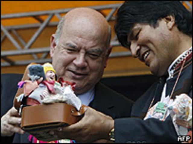 Mision de Buenos Oficios en Bolivia
