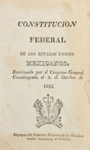 Constitución Federal de 1824