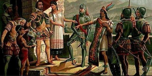 Llegada de Hernán Cortes a Tenochtitlan