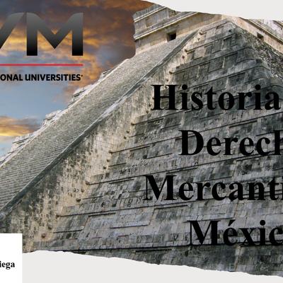 Historia del Comercio en México timeline