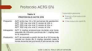 Estudio ACTG 076