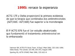 Ensayos Delta y ACTG 175