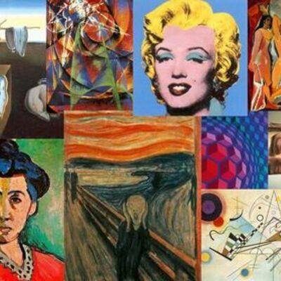 Las vanguardias. El arte a lo largo de los años. timeline