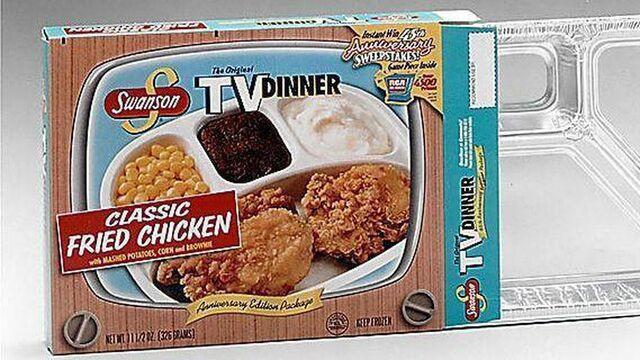 Swanson TV Dinners Use Plastic