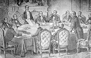 ΣΥΝΘΗΚΗ ΠΑΡΙΣΙΩΝ (Ρωσία,Μ. Βρετανία, Γαλλία, Πεδεμόντιο και Οθωμανική Αυτοκρατορία)