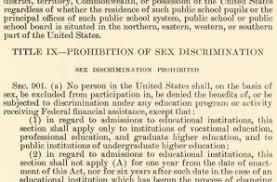 Educational Amendments Act