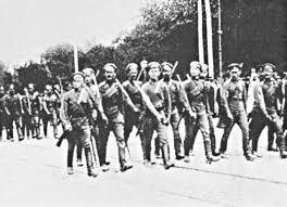 Початок контрнаступу більшовиків