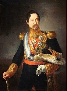 Regreso de Narváez: gobierno autoritario