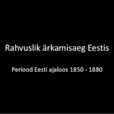 Eesti ärkamisaeg timeline