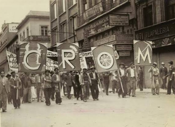 Nacimiento de la Confederación Regional Obrero Mexicana