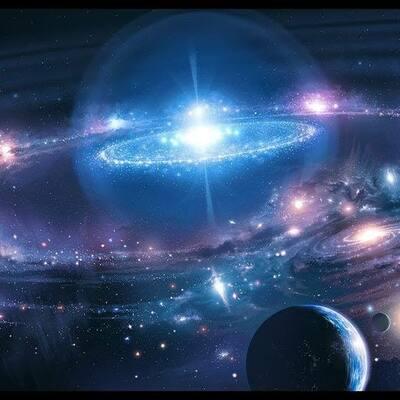 formación del universo (diversas teorías) timeline