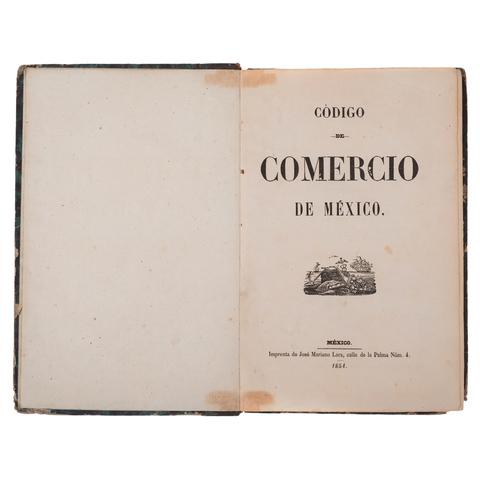 Primer Código de Comercio en México