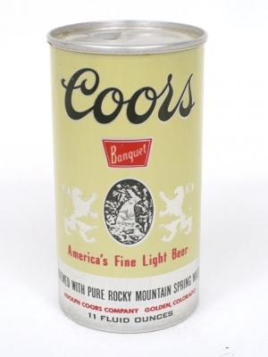 Coors Invents Aluminum Cans