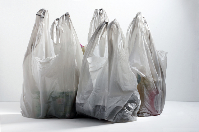 'Plastic bags were invented to help save the planet'
