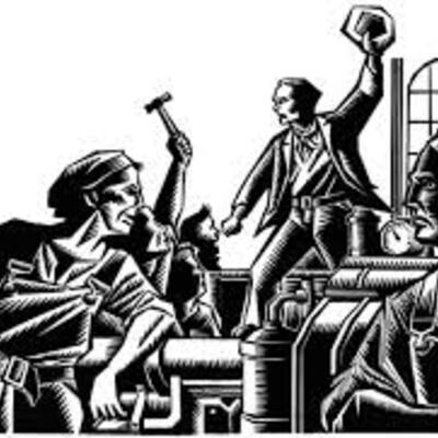 Antecedentes del Derecho Colectivo del Trabajo Inglaterra, Francia, Alemania, Estados Unidos, Mexico. timeline