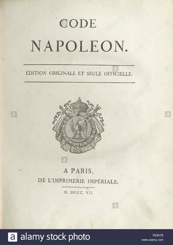 Código del comercio Napoleónico