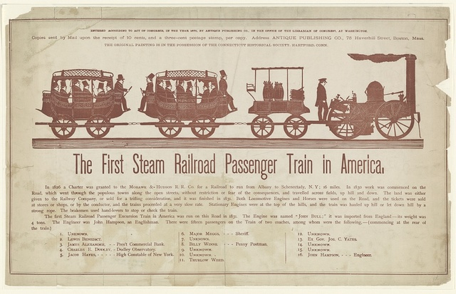 First Passenger Railroad
