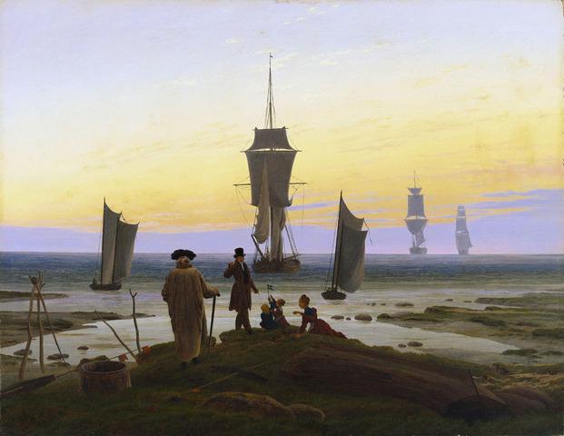 """Las tres edades del hombre"" de D. FRIEDRICH"