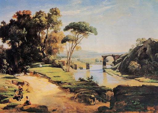 """""""El puente de Narni"""" de COROT"""