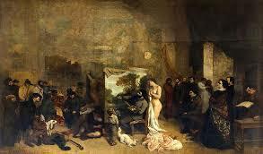 """""""El estudio del pintor"""" de COURBET"""