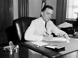 J.Edgar Hoover Becomes Head of the FBI