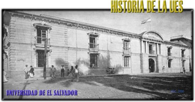 Fundación de la Universidad de El Salvador