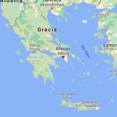 Línea del tiempo Grecia timeline