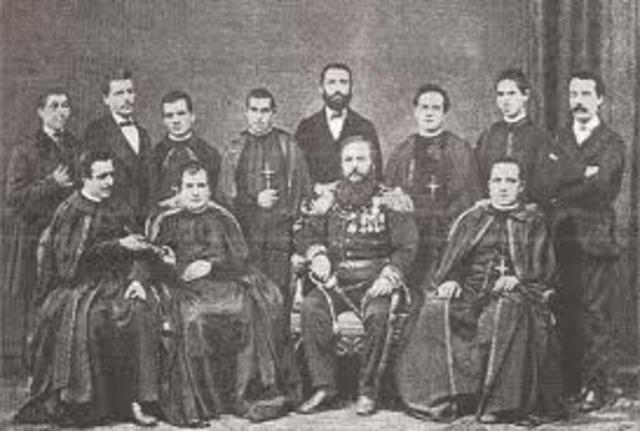 Llegada de misión italiana de salesianos