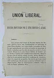O'Donell funda la Unión Liberal