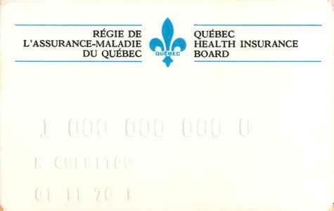 Régime de l'assurance maladie