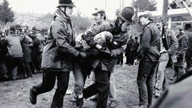 Huelga minera en Reino Unido
