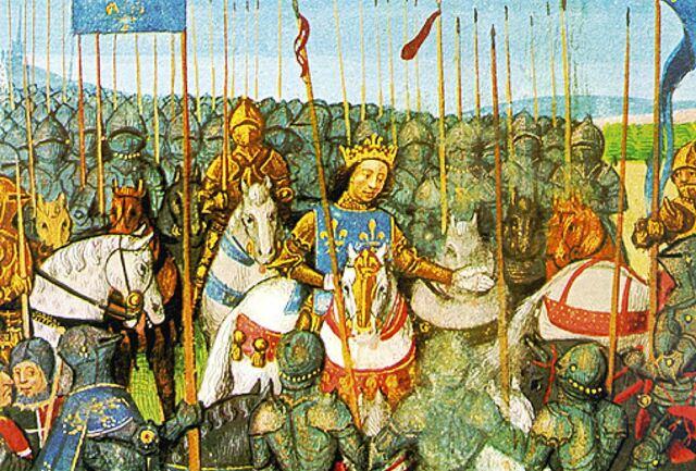 Algas sõda Inglismaa ja Prantsusmaa vahel.