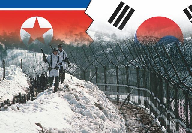 Sør-Korea innvadert
