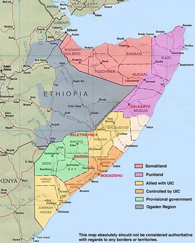 Somalian Civil War Begins