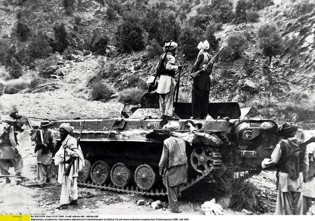 Kommunistane tok makta i Afhganistan