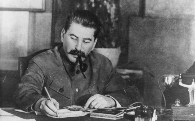 Stalin død