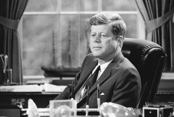 John F Kennedy president